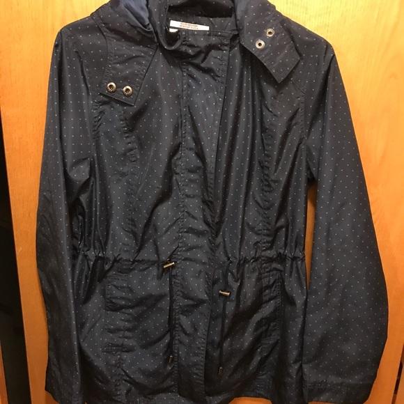 2c11be6e9 Merona Jackets & Coats | Womens Polka Dot Rain Jacket | Poshmark